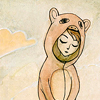 neptuneskisses: (girl in bearsuit) (Default)