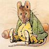 "strange_raptors: Samuel Whiskers from Beatrix Potter's ""The Tale of Tom Kitten"" (Samuel Whiskers cooking)"