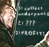 unsymbolic: Mad-eye writing: 1) Collect underpants  2) ???  3) PROFIT! ([Mad-eye Moody: underpants])