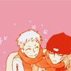 ruby_shards: Akihiko/Shinjiro fanart. Persona 3. ({akishinji} real men snuggle)