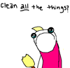 notemily: (misc - clean -all- the things?)