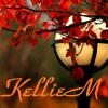 kelliem: fall leaves & lamp (fall)