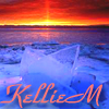 kelliem: icy lakefront sunrise (reflect)