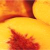kelliem: peach halves (peaches)