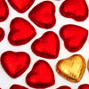 kelliem: heart-shaped candies (hearts)