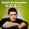 kj_svala: (SPN Dean death by boredom in...)