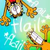 kj_svala: (Garfield flail)