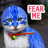 demeter918: blue doraemon cat (Death Note - the_pixelized - dead boys d)