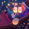 hairthatglows: (lighting lanterns)