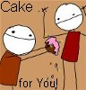 dine: (cake ... for you!)
