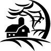 disaster_preparedness: Storm hitting house (disaster preparedness)