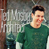 jlh: Ted Mosby grinning (himym: Ted)