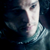 wolfinthesnow: (Jon - listening intently)