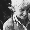 justfornow: ([HP] Ϟ {Tom Felton} b&w - smile for me)