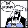 aderyn: Batman. Baking (Baking!Batman)