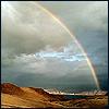 ernads: symbol  of hope (rainbow)