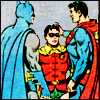 teland: Bruce and Clark petting Jason. As you do. (WF3 for the win!)
