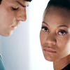 jlh: Spock staring at Uhura, who looks at the camera (st: Spock and Uhura)
