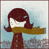 ext_148654: [band posters: camera obscura]  (scarf love! {by me})