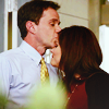 jlh: Peter kissing El on the forehead (white collar: Peter and El)