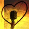 actiaslunaris: Music - microphone with heart - KOH+ KISSして screencap (sing sing sing)