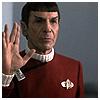 amberleewriter: Spock gives you the Vulcan sign of Peace (Default)