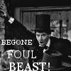 agentanachronism: (Begone foul beast!)