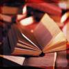catalogermom: open book on desk (books)