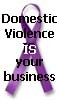 ladymackenzie: Domestic Violence Awarness Ribbon (S Shield)