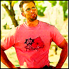 kate: Jensen from the Losers in his pink Go Petunias! shirt :D (Losers: Jensen Go Petunias!)