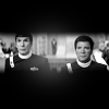 bristrek: A letter box and b/w view of Kirk and Spock next to each other at the trial at the end of Voyage Home. (ST Kirk and Spock side by side)