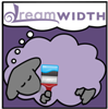 musyc: Unofficial Dreamsheep illustration in purple, holding a paintbrush (Other: Dreamsheep styles)