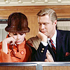jlh: Holly and Paul looking into a display case (duos: Holly and Paul at Tiffany's)