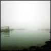 stelpa: Harbor on a misty day. (harbor, haunted, mist)