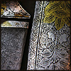 klgaffney: a close up of a decorated blade and sheath. (sharp and shiny)
