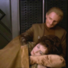 agapi42: Lwaxana sleeping in Odo's lap (DS9 - *melts like a Changeling*)