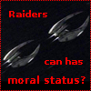 genusshrike: Raiders can has moral status? - Cylon raider icon (raiders)