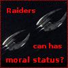 genusshrike: Raiders can has moral status? - Cylon raider icon (raiders)