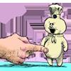 dawn_felagund: The Pillbury Doughboy looking angry as he's poked. (doughboy)