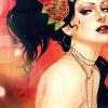 aaronlisa: (Art: dark haired woman by Sylvia Ji)
