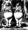 tweedle: (Dum and Dee)