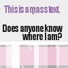notbantamweight: (Where am I? Who are you? What am I weari)