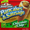 shinytoaster: It's Jimmy Dean Chocolate Chip Pancake and Sausage ON A STICK! (Daily Show, pancake and sausage, everything that's wrong with America, God bless America, Jimmy Dean)
