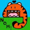 nomette: A nom. (the happy nom)