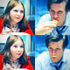 fera_festiva: The Eleventh Doctor and Amelia Pond (doctor who: doctor and amelia)