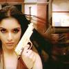 pennyroyal: Indian girl with a gun (Bollywood Bond Babe)