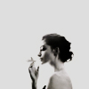 pennyroyal: Anne Hathaway smoking (Anne: Smoke noir)
