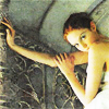 pennyroyal: Lily Cole on a spiral staircase (Lily: Staircase to heaven)
