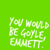 pennyroyal: You would be Goyle, Emmett. (Growing Up Cullen: Goyle)