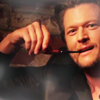 jlh: Blake Shelton with a pipe in his teeth (music: Blake Shelton)